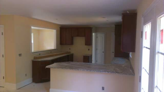 Thorncliff Kitchen with New Cabinets and Granite Countertops